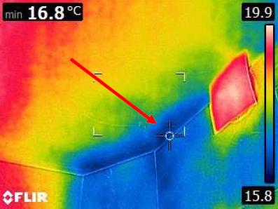 CHIADO 3 Mise en oeuvre camera thermique