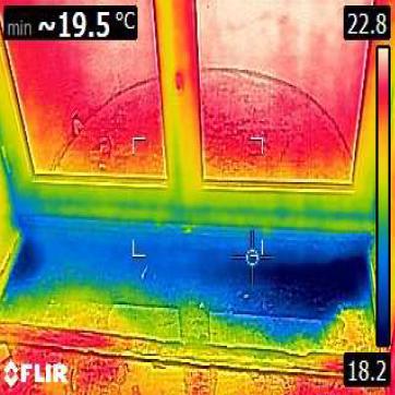 Détection humidité - Défaut étanchéité 1a