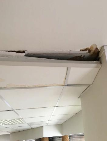 LECLERCQ 1 infiltration par le plafond